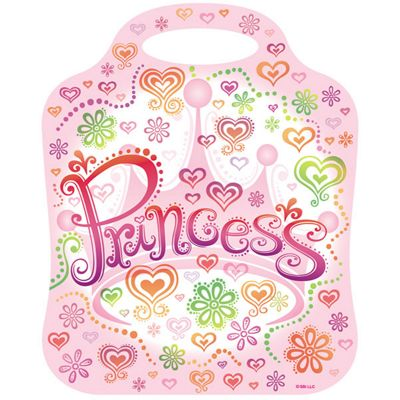 Princess Diva Party Plastic Party Bags (8pk)