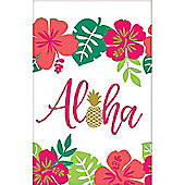 Aloha Summer Plastic Tablecover - 1.37m x 2.6m
