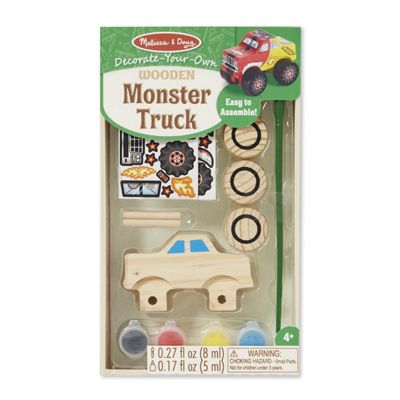 Melissa & Doug Build and Decorate Your Own Monster Truck