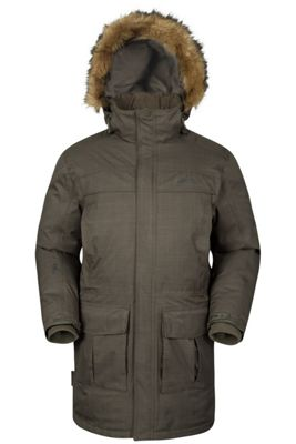 Mountain Warehouse Antarctic Textured Mens Down Jacket ( Size: S )