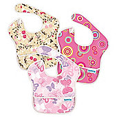 SuperBib 3-pack Girls