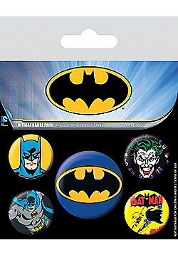 Batman Badge Pack 10x12.5cm - Multi