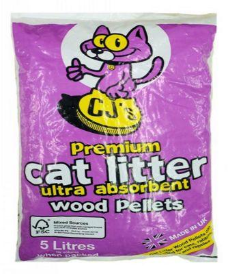 CJ's Cat Litter 5 Litre
