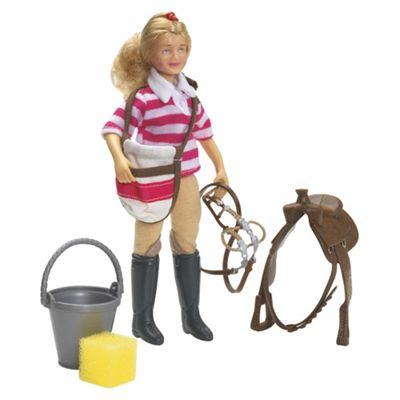 Breyer Saddle Up Eva Doll Set