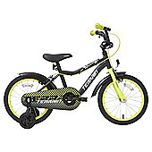 Terrain Track 16 inch Wheel Black Kids Bike
