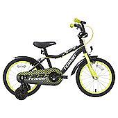 Terrain Track 16 inch Wheel Black Kids Bike