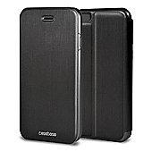 CaseBase Flip Folio Case for Apple iPhone 6 and Iphone 6s - Black