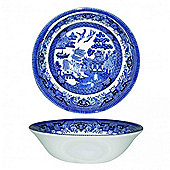 Churchill Blue Willow Coupe Bowl 20cm