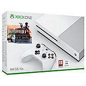 Xbox One S 500GB Battlefield 1 Console