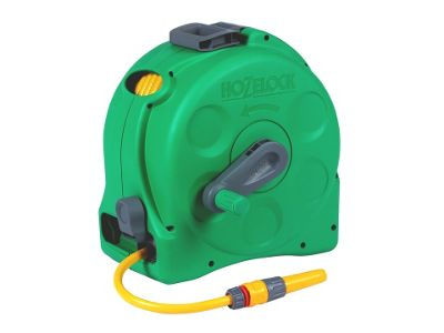 Hozelock 2415 2in1 Comp Enclose Reel+Hose 25m