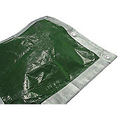 Faithfull TARP129 3. 6 x 2. 7m/ 12 x 9ft Tarpaulin - Green/ Silver