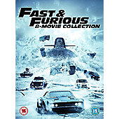 Fast & Furious 1-8 Boxset (8 Films) Dvd 8Disc