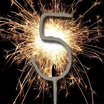7' Number 5 Sparkler