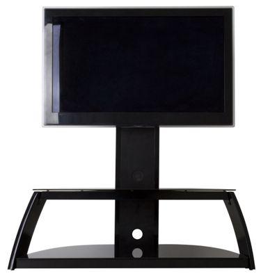 AVF Garda Black Corner Cantilever TV Stand