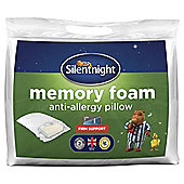 Silentnight Anti Allergy Memory Foam Pillow
