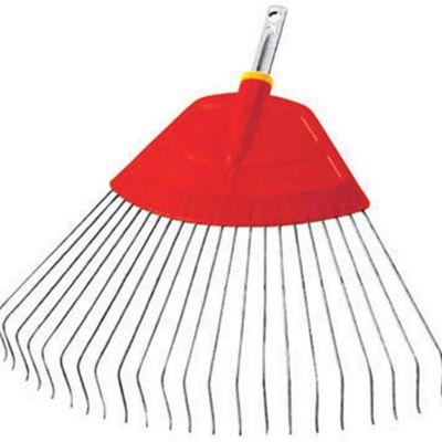 WOLF-Garten UBM 50cm Poly Body / Metal Tine Lawn Rake - Multi-Change Handle sold separately