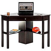 DSK Cinnamon Cherry Home Office Corner Desk