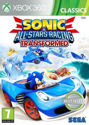 Sonic & All Stars Racing Transformed Classics (Xbox 360)