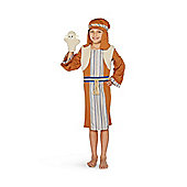 F&F Shepherd Nativity Costume - Brown