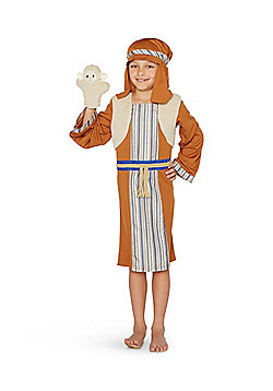 F&F Shepherd Nativity Costume - Brown