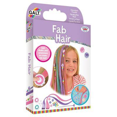 Galt Toys Fab Hair Extensions And Hair Chalk Kit