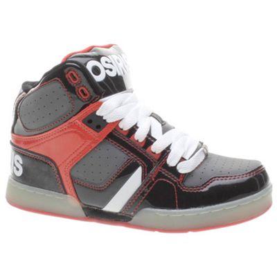 Osiris NYC 83 Kids Black/Grey/Red Shoe