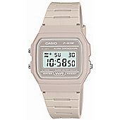 Casio Classic Unisex Chronograph Alarm Watch - F-91WC-8AEF