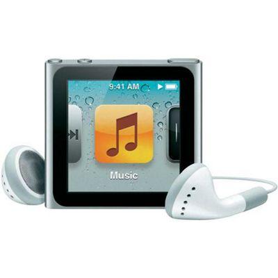 Apple MC525QG/A iPod Nano 8 GB 6th Gen - Silver
