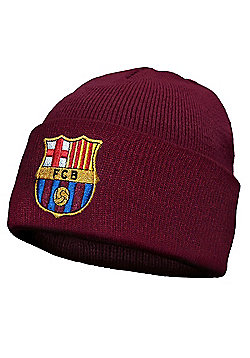 FC Barcelona Knitted Hat - Red