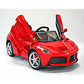 Kids Electric Car Ferrari LaFerrari 12 Volt Red Gloss