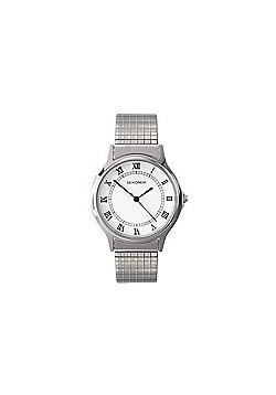 buy men s watches from our men s watches range tesco sekonda unisex stainless steel expander bracelet watch