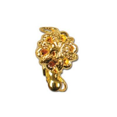 Impex Flower Necklace Clasp Gold