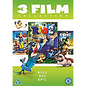 Rio 2 Rio Epic Triple Pack DVD