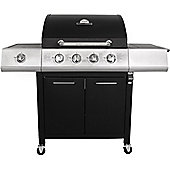 Charles Bentley Premium 4 Burner Gas BBQ With Side Burner