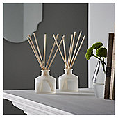 Fox & Ivy Wild Cotton & Linen Luxury Scented 2 x 40ml Reed Diffuser Set