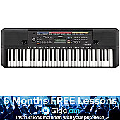 Yamaha PSRE263 Portable Keyboard – with 6 Months Free Online Music Lessons