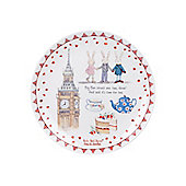 Ruby Red Shoes London Big Ben Cake Plate