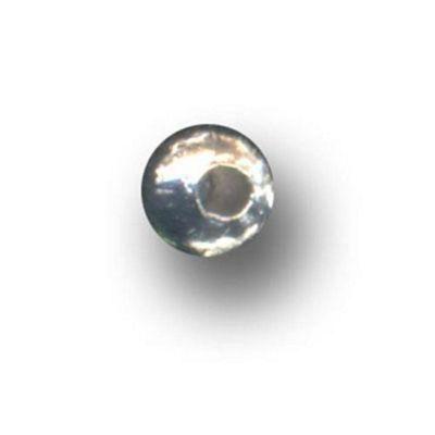 Metal Beads S/P 3mm 100 Pk