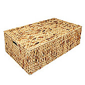 Woodluv Water Hyacinth Under Bed Storage Chest Basket -Extra Large
