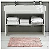 Fox & Ivy Egyptian Cotton Rose Pink Bath Mat