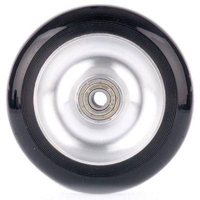 Stunt Scooter Solid Aluminium ABEC 9 Wheel - Metallic Silver