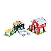 ELC Wooden Farm Play Set