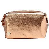 Mi-Pac Wash Bag - Metallic Rose Gold