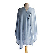 Bebitza Breast Feeding Blanket - Powder Blue