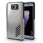 Orzly Grip Pro Case for Samsung galaxy Note 7 - SILVER
