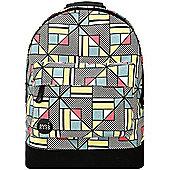 Mi-Pac Backpack - Canvas Geometric Multi