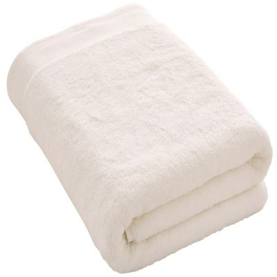 Retreat Bath Sheet 91X167 - White