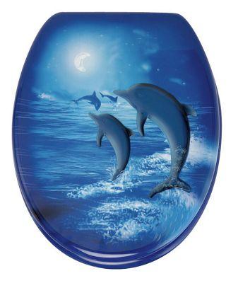 Wenko Vision Toilet Seat Blue
