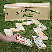 Garden Games Giant Wooden Dominoes in a Box