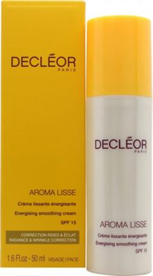Decleor Aroma Lisse Energising Smoothing Cream 50ml SPF15